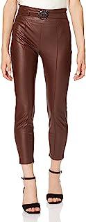 PINKO 女士校园长裤,L97_GHIACC。Cacao,44