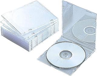 Elecom 宜丽客 DVD CD 箱塑料箱修身 透明色