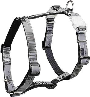 Trixie 特瑞仕 12333 Explore H~胸背带闪烁扣,黑色 L–XL: 75–120 cm/25 mm