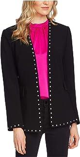 Vince Camuto 女式黑色西装外套,深黑色 2 码
