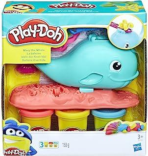 Hasbro 孩之宝 Play-Doh 培乐多 E0100EU4 威利鲸鱼,彩泥