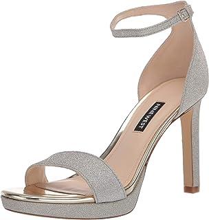 NINE WEST 女式 Edyn3 高跟凉鞋