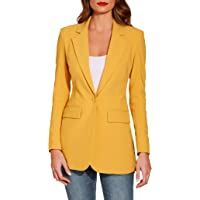 Boston Proper Women's Wrinkle-Resistant Classic One-Button S…