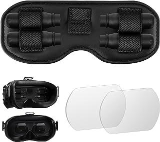 FPV 镜头保护盖和镜头 Prptection 钢化玻璃膜套装适用于 DJI FPV V2 FPV 镜头护目镜保护配件