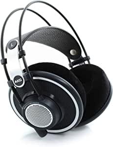 AKG 开放式全包式高级耳机 录音棚参考级 K702