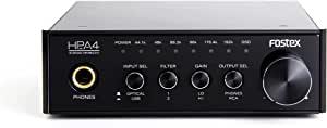 FOSTEX 耳机放大器 内置D/A转换器 支持高解析度音频 HP-A4