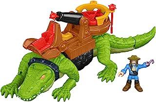 Fisher-Price 费雪 Imaginext 鳄鱼和海盗Hook玩具,多色