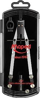 Maped 马培德 178101 复古高品质快速调节箱子 N° 421-3 件 圆规 通用笔芯 替换笔芯