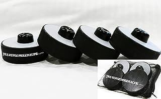 Traverse Ridge Racing 高密集度千斤顶垫   用于 Model S 3 X Y 的吊点适配器   4 件装带袋   全新改进设计 - 金属加固鞋面,低调