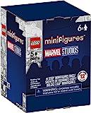 LEGO 迷你人物漫威工作室 66678 积木套装;送给*英雄搭建玩具粉丝的超棒礼物;2021 年新款 (6 件装)