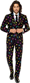 OppoSuits 男士紧身裤西装和领带
