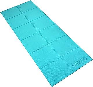 VViViD 可折叠厚 PVC 填充方形瓷砖 182.88 厘米 x 60.96 厘米锻炼和瑜伽垫