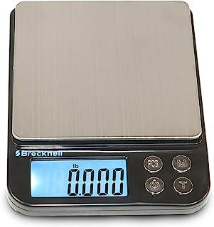 Brecknell EPB 小数字袖珍平衡秤,电池供电,公斤,克,磅,盎司,克拉,计数模式 500g Capacity 816965007097 1