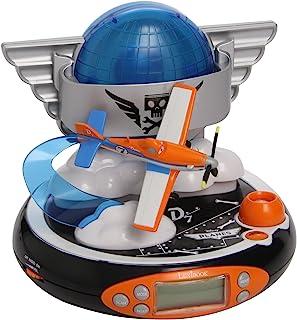 Lexibook Disney 飞机总动员投影仪闹钟