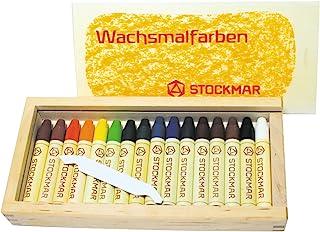 Shuttchumu 蜂蜡棒蜡笔 16色 木盒装 ST32502