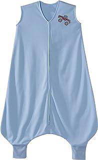 HALO 大童睡袋轻质针织可穿戴毛毯 蓝色 2-3T
