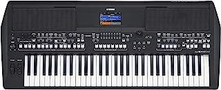 Yamaha 雅马哈 电子键盘,黑色,入门级键盘,61个按键 & 多种乐器声效,便携式键盘,适合初学者学习