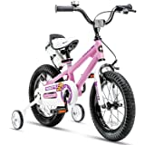 Royalbaby BMX Freestyle 儿童自行车男孩款自行车女生 BIKES 与训练车轮27.94 cm 20…