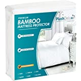 Plush Deluxe 竹制婴儿床床垫保护垫 Full 全部 7367