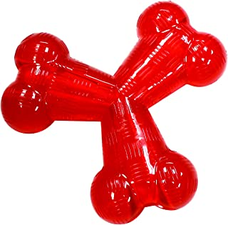 Ethical Pets Play Strong Virtually Indestructible 狗狗玩具,6 英寸,橡胶 Y