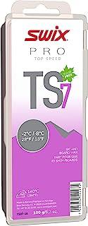 TS07-18 - *速度蜡 - TS7 紫罗兰 - 18 至 2.2 °C - 180 克棒 - 无氟 - 滑雪或滑雪板 - FIS 认证