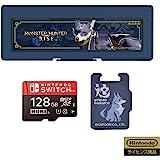 【任天堂许可商品】怪物猎人 microSD卡128GB+卡盒6 for Nintendo Switch【适用于任天堂Sw…