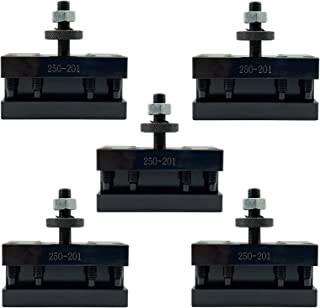 ALTBET 5 件 250-201 BXA #1 快速更换车削和面向工具支架 适用于车床秋千 10-15 英寸