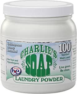 Charlie's Soap 查利洗涤剂 天然环保洗衣粉(100次)1.2kg(进口 婴幼儿适用)(新老包装,随机发货)