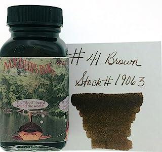 Noodler's Ink Fountain Pen Bottled Ink, 3oz, Bulletproof #41 Brown