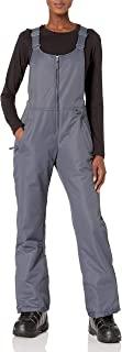 Arctix 女式必备隔热背带裤,钢色,1X/常规