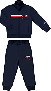 Champion Heritage 男童 4-7 两件针织运动裤套装 儿童服装