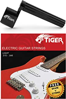 Tiger 电吉他 琴弦和琴弦曲柄曲柄曲柄