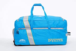 Newbery Cricket Invictus 板球套装包,蓝色/灰色,均码