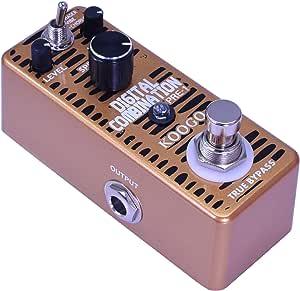 Koogo Roto 发动机踏板数字相位踏板组合与振动合唱相移器 3 种模式