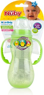 Nuby 3 Stage Bottle, 11 Ounce, Colors May Vary