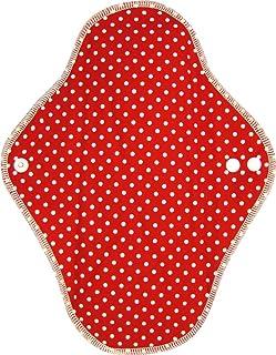 布卫生巾 白天用 (圆点/红色)