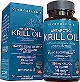 viva labs krill oil - 100% pure cold pressed antarctic krill…