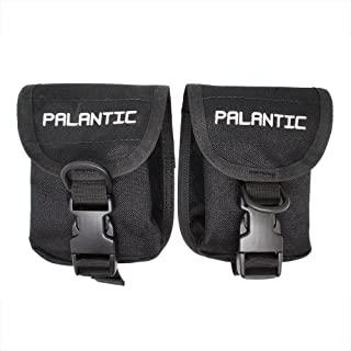 Palantic Scuba Diving Trim Counter Weight Pocket Pouch 带 QR 带扣(1 对)