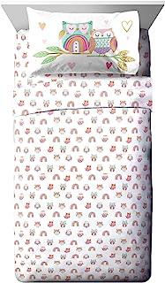 Jay Franco Trend Collector Sweet Dream 幼儿床单套装 - 3 件套超柔软舒适儿童床上用品 - 防褪色超细纤维床单