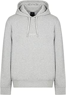 A|X Armani阿玛尼Exchange男式套头连帽运动衫,正面有徽标