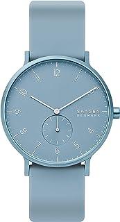 Skagen Aaren 彩色硅胶石英极简 41 毫米手表