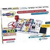 Elenco Snap Circuits Extreme SC-750 卡扣式电子探测套件| 750多件项目| 全彩项目…