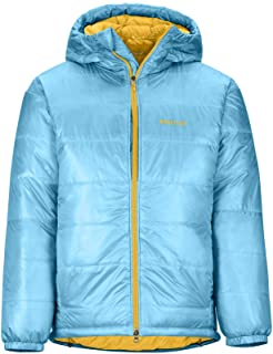 Marmot West Rib Parka 男士轻便羽绒夹克,800 蓬填充,带内衬绗缝夹克,防水,防风