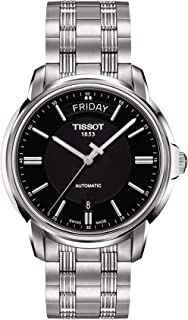 Tissot Automatics III 黑色表盘男式手表 T065.930.11.051.00