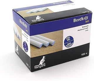 Kangaro 黑板粉笔,白色盒子,100件,PT005,白色