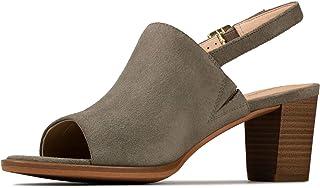 Clarks 女士 Kaylin 60 挑空高跟凉鞋