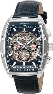 [SONNE]手表 H018 藏蓝色表盘 自动上弦 H018SS-NV 男士