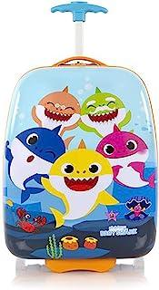 Baby Shark 矩形硬壳随身行李箱 45.72 cm 轮式行李箱 儿童