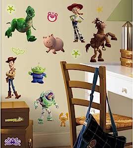 RoomMates RMK1428SCS 玩具故事即剥即贴墙贴手套-深色,34 片