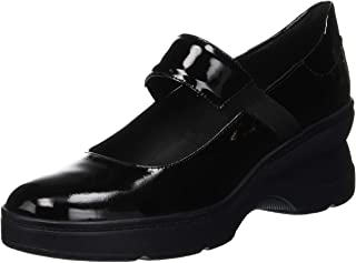 Geox 健乐士 D Ascythia A Mary Jane 女士低帮鞋